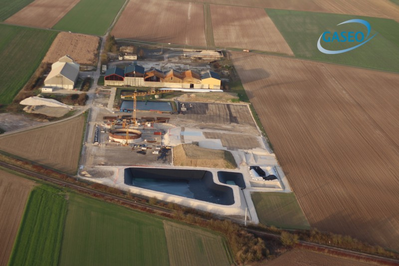 biométhane biogaz méthanisation coopérative agricole épuration GASEO SCARA ARCIS-SUR-AUBE CHAMPAGNE