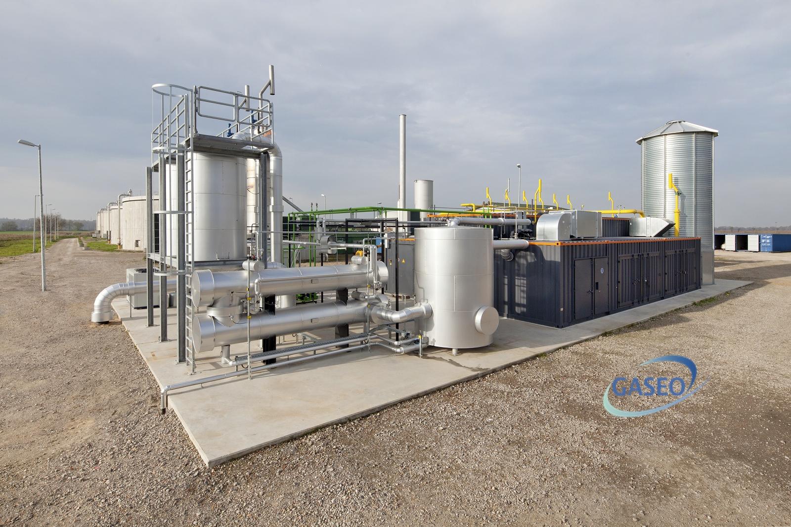 biogaz valorisation energie installation biométhane PSA Pressure Swing Adsorption réinjection réseau GASEO